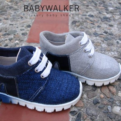 Tο πρώτο trainer βαπτιστικό παπούτσι της συλλογής Καλοκαίρι 2016 Babywalker