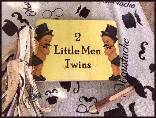 ξυλινο βιβλιο ευχων little man