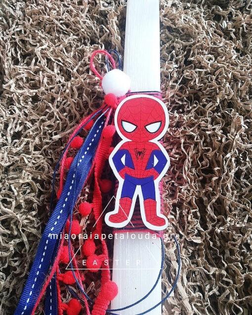 Παιδική Πασχαλινή λαμπάδα spiderman